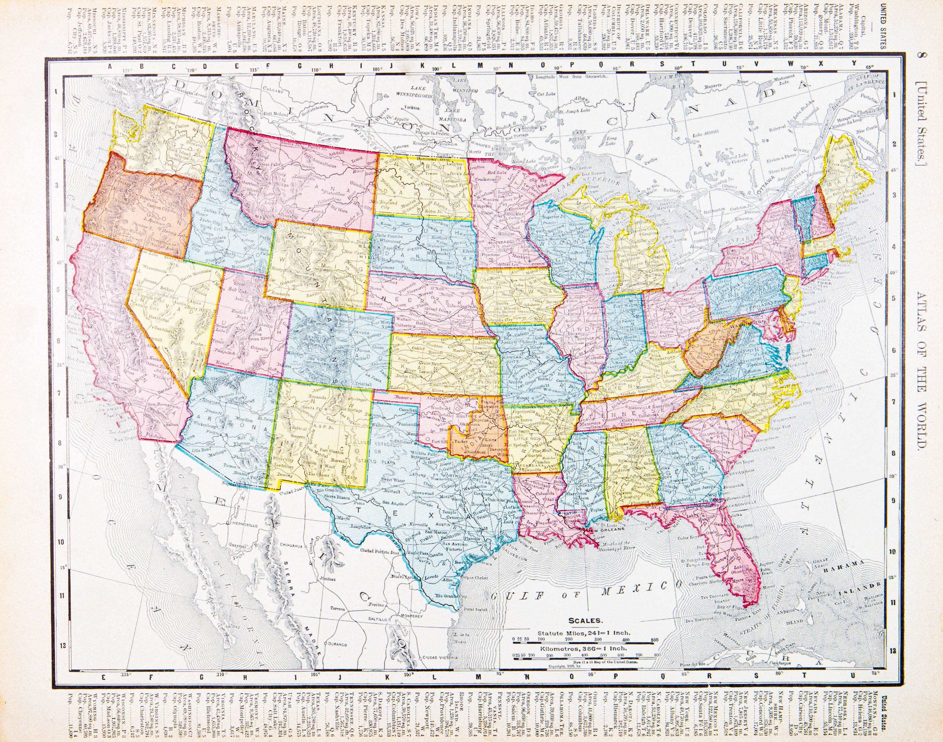 map of no fault states in united states