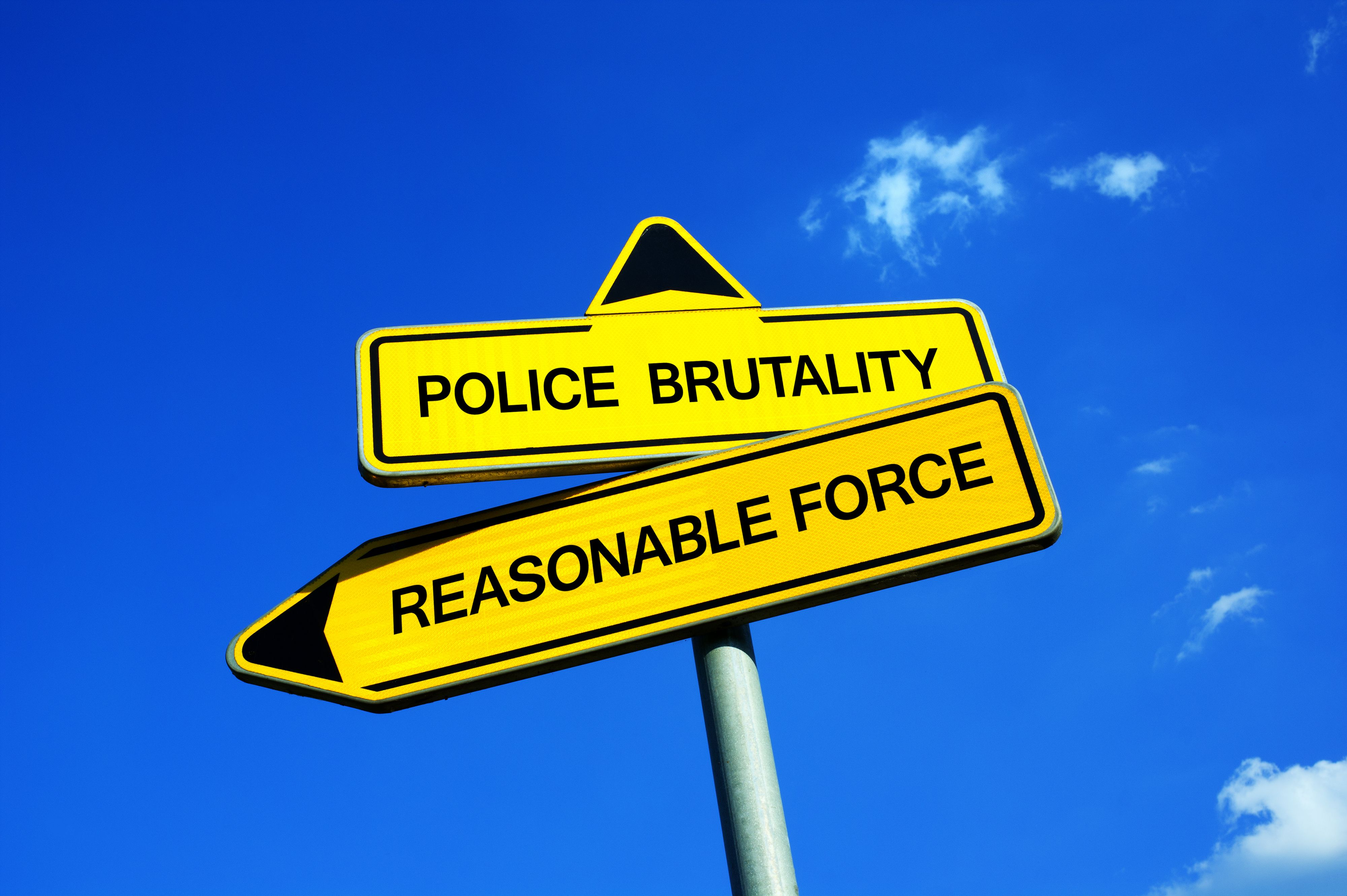 signs of police use of deadly force