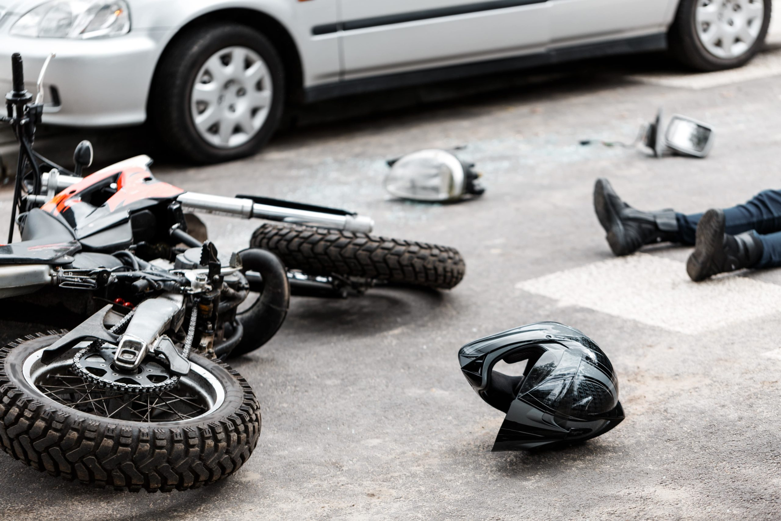 common motorcycle accident