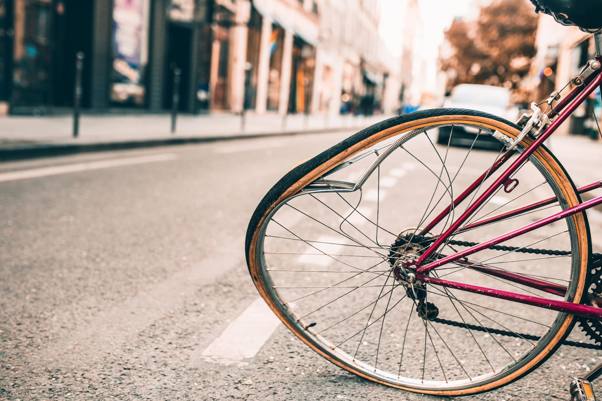bicycle accidents rising