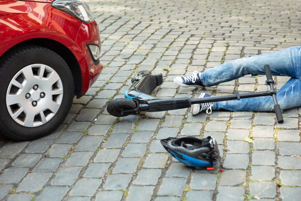 Oakland electric scooter accident lawyer